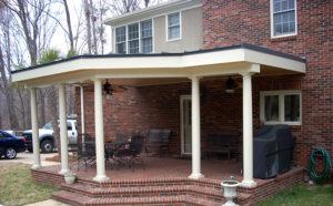 Vartanian Construction brick house porch