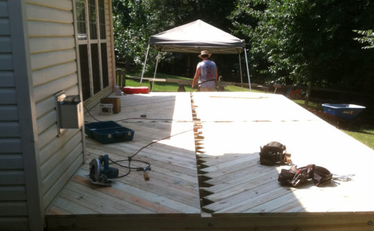 Vartanian Construction Joes deck