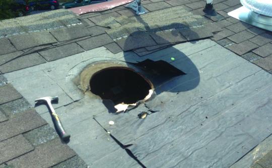 Vartanian Construction roof vent