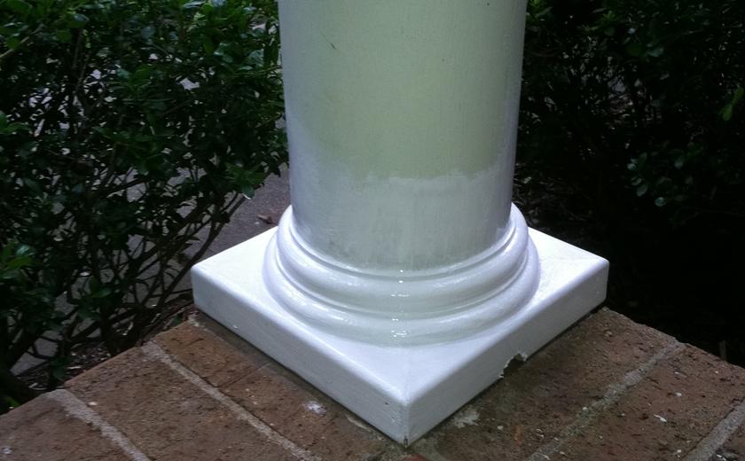 Vartanian Construction column repair