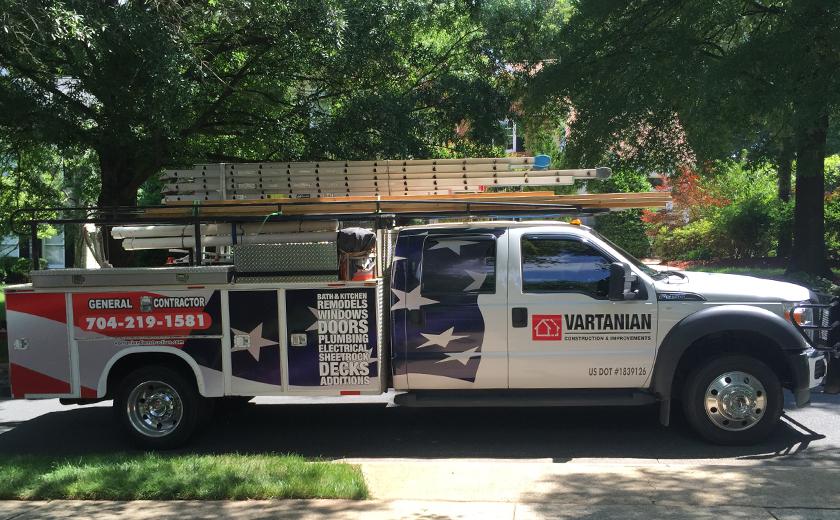 Vartanian Construction new truck