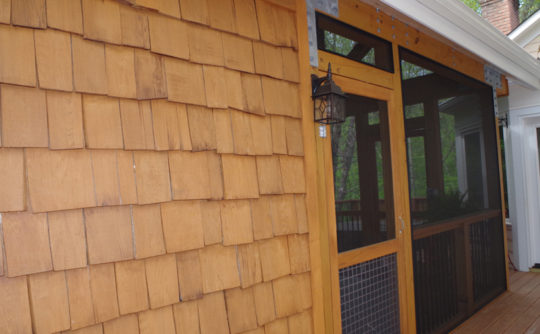 Vartanian Construction screened porch outside3