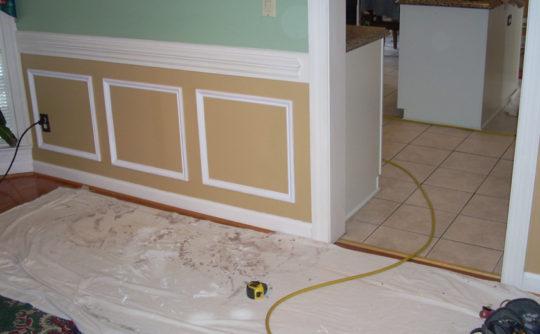 Vartanian Construction shadowbox trim before2