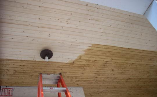 Vartanian Construction siding house ceiling