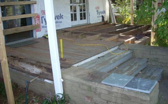 Vartanian Construction steps during